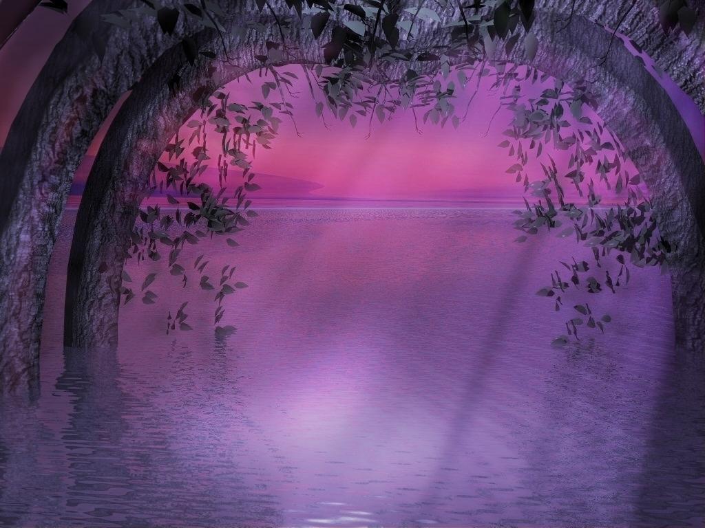fairies-world-purple-evening